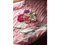 Cloth nappies +liners, some never used