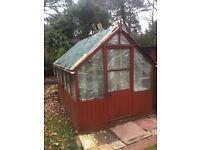 8ft x 4ft greenhouse buyer dismantles