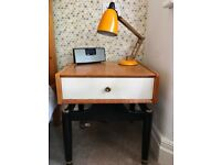 Vintage G Plan Teak Bedside Table / Cabinet