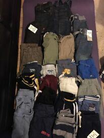 Large bundle of 18-24months boys clothes