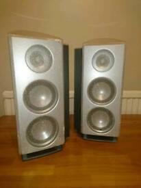 Sharp NX-CP10H speakers
