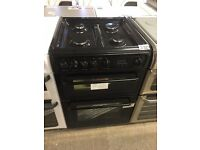 HOTPOINT HAG60K 60 cm Gas Cooker - Black