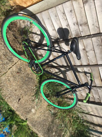 Mango Bike - Single Speed - Black/Green