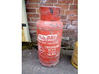Flowgas 18kg propane and Dongas 13kg Butane