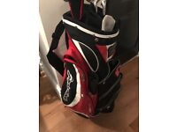 Taylormade bag and clubs