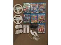 Wii u games and accessories bundle
