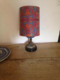 Retro lamp made from old oil lamp