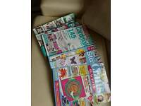 Card and craft magazines