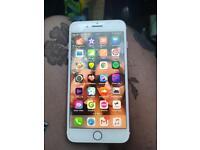 iPhone 7 Plus 128g rose gold vodafone