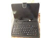 """Universal Flip Case with Micro USB Keyboard For Android Tablet PC 9"""""""