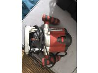 Power base extreme router 1100w 55mm plunge depth 240v