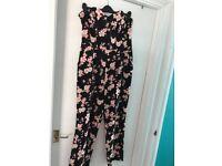 Miss Selfridge floral jumpsuit