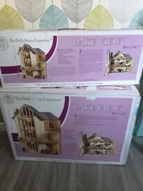 Dolls House Emporium (DHE) 12th Scale Lakeview Kit (house only) BNIB RRP £225