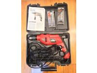 Hammer drill and bits
