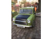 Classic mini MAYFAIR mr bean car (9 months mot)