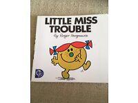 Mr Men - Little Miss Trouble £1.00
