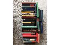 34 rustic hardback books for sale