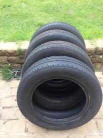 4 x 175/65/R15 tyres in good condition