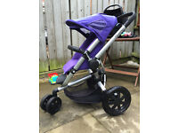 Quinny buzz with maxi cosi car seat