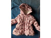 baby girl coat 9-12