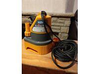 Hazellock 2in1 flood pump max flow 6000lph