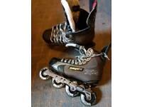Bauer xr4 vapour roller hockey skates