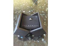 18CT white gold Tolkowsky diamond engagement ring