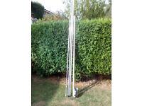 40m Band Vertical Antenna - Quarter wavelegth - Ground or Pole Mounting