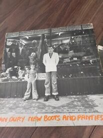 Ian Dury - New Boots and Panties LP