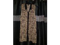 Ladies Leopard print H&M shirt