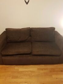 Brand new, double sofa x2, coffee table, set of drawers and bed frame