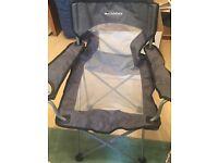 Set of 2 Lichfield Foldable Camping/Fishing/Picnic Chairs