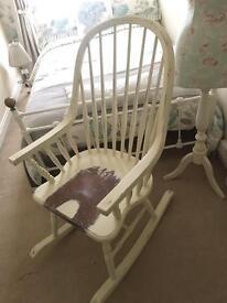 Laura Ashley rocking chair