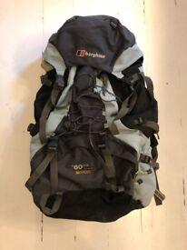 Berghaus women's travelling / hiking backpack
