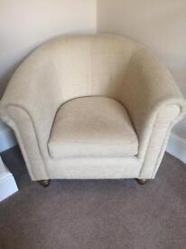 Marks & Spencer 2 seater sofa and 2 x bucket chairs