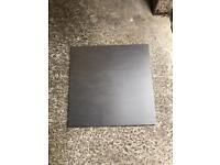 Grey / charcoal floor or wall tiles, brand new, 3 boxes