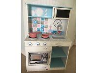 Plum toy kitchen, 'Snowdrop', excellent condition