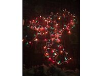 used xmas christmas wedding fairy lights different colours and lengths some waterproof uk plug