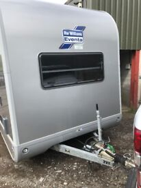 Ifor Williams Eventa L Tri Axle Full Leather Trailer For Shows Or Horses Or MX