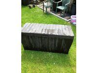 Garden storage box plus plant boxes