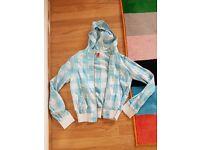 Light blue tin jacket size 10 (fits size 8) H&M