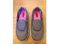 Skechers Go Walk 3 Women shoes size UK3 Grey