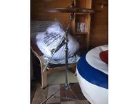 Sabian ride cymbal & boom stand