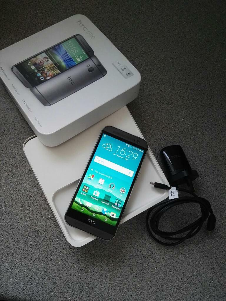 HTC ONE M8 Smartphone Unlocked Simfree greyin Blackheath, LondonGumtree - Here is a Htc M8 unlocked smartphone,Model Genuine HtcNetwork UnlockedColour Greycomes with case USB Cable, charger and box. It has been used for only for few months in very good condition with minor wear tear. An excellent phone for using Viber,...