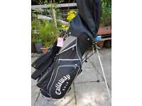 Callaway Big Bertha golf clubs and bag