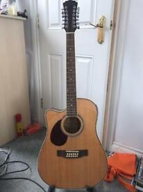 Freshman FA1DCE12LH Left handed 12 string acoustic