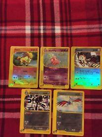 Pokemon Cards Aquapolis Holo-Reverse Holo-Rare Mint Condition