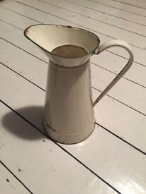 French vintage vase jug watering can