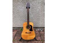 1997 Washburn D13S Acoustic Guitar