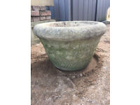 WILLOW LODGE CRAFTS LTD STONE VINTAGE WEATHERED PLANTERS - 5 AVAILABLE